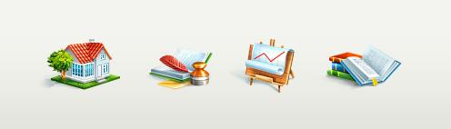 Создание дизайна сайта и иконок